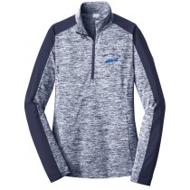 CPP - Ladies Electric 1/4-Zip Pullover