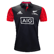 Adidas Māori All Blacks Rugby Polo