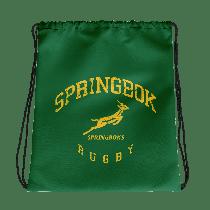 South Africa Springboks Rugby Drawstring Bag