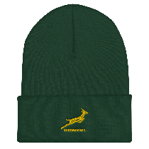 South Africa Springboks Rugby On Field Training Beanie