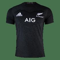 Adidas All Blacks Rugby Home Replica Performance T-Shirt