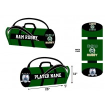 CSU Men's Rugby Kit Bag - Forest/Black