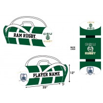 CSU Rugby Kit Bag - Forest/White