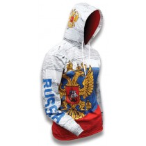 Russia World Sublimated Warmup Hoodie
