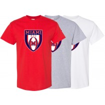 Miami Rugby - Crest T-Shirt