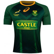 ASICS Springboks Mens 7's Rugby Supporter Jersey