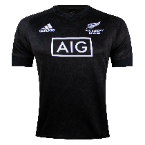 Adidas All Blacks Rugby 2021 Sevens Home Jersey