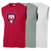 Miami Rugby - Crest Sleeveless Tee