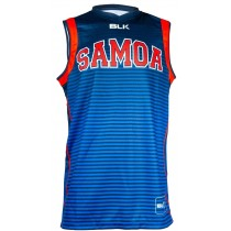 BLK Samoa Rugby World Training Singlet
