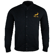 South Africa Springboks Embroidered Rugby Bomber Jacket