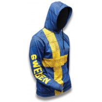 Sweden World Sublimated Warmup Hoodie