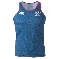 Canterbury USA Rugby Training Singlet - Navy