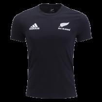 Adidas All Blacks 2020 Home 3 Stripe T-Shirt
