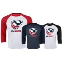 USA Rugby 3/4 Sleeve Raglan Shirt