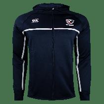 Canterbury USA Rugby Full Zip Hoodie