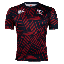 Canterbury USA RUGBY Men's Navy Jersey