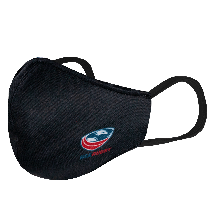 USA Rugby Black Logo Face Mask