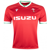 Macron Wales Rugby 21 Home Jersey