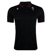 Macron Wales 21 Rugby Polo