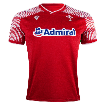 Macron Wales Rugby 7'S 21 Home Jersey