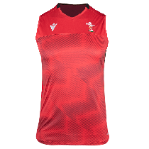 Macron Wales Rugby 21 Training Singlet