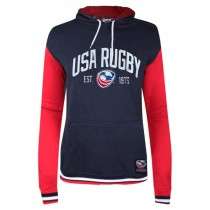 USA Rugby Twill/Embroidered Premium Women's Hoodie